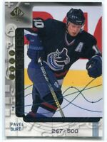 1998-99 SP Authentic Stat Masters 17 Pavel Bure /500