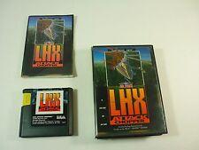 AIR FORCE LHX L H X ATTACK CHOPPER - Sega Genesis - COMPLETE Game - TESTED - !!!