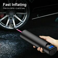 12V 150PSI Car Air Pump Portable Tires Inflator USB Charging With LED Light