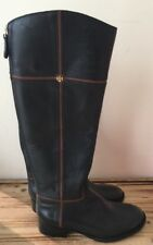 Tory Burch Juliet Riding Boots Black Size 5