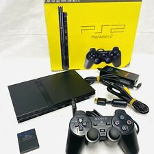 SONY PlayStation 2 Slim Console Bundle - Boxed w/Inserts *Tested* VGC