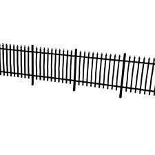 LASER CUT WROUGHT IRON RAILINGS FENCING OO SCALE 1:76 MODEL RAILWAY - LX011-OO