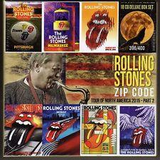 ROLLING STONES  - -  Zip Code Tour  part 2 -    18 CD's    Box