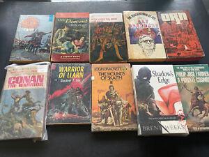 Vintage Science Fiction Paperbacks Mix- Lot Of 10