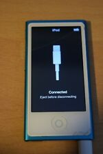 Apple iPod Nano 7th Generation Blue 16GB *Cracked Screen*