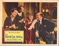 1957 MOVIE LOBBY CARD #4-1962 THE GREEN MAN - ALASTAIR SIM