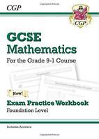 NUEVO GCSE Maths Exam práctica Workbook: Fundación - para el Grado 9-1 CAMPO