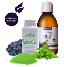 NaroCor + 200 ml Omega-3 Total / Resveratrol / Aronia / Grüner Tee / Quercetin