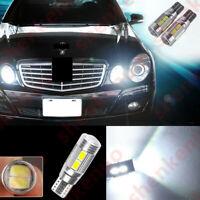 2 X Error Free LED Parking City Light Projector For Mercedes Benz W211 E320 E500