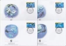 WWF 4 x FDC Penrhyn 2003 - Vissen Maanvis / Fish (072)