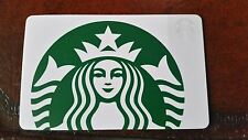 STARBUCKS CARD - NEW NO VALUE - GREEN & WHITE SIREN - PROMOTION 2015