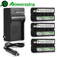 Battery + Charger For Sony NP-F550 NP-F330 NP-F570 NP-F750 NP-F960 F970 F770 US