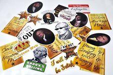 Hamilton the Musical Vinyl Stickers Decal