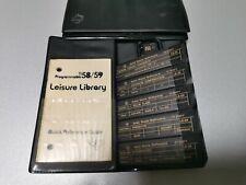 TI 58 58C 59 Leisure Library Module #7