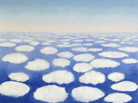 Georgia O'Keeffe Above the Clouds I Giclee Canvas Print Paintings Poster Reprodu