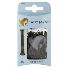 Lady Jayne Bobby Pins Brown 4.5 Cm Pk50 Postage