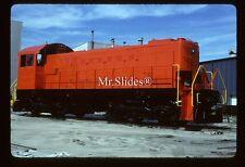 Original Slide DEGUSSA Fresh Paint ALCO S2m GE Cleveland Rebuild In 1989