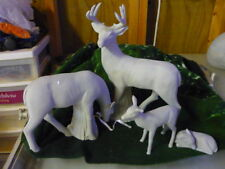 Ceramic Deer Family Ready to Paint