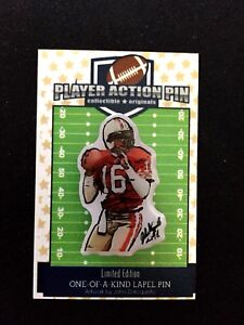 San Francisco 49ers Joe Montana jersey lapel pin-#1 Best Seller-NINERS NATION