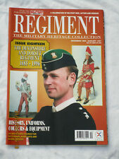 REGIMENT MAGAZINE: Devonshire & Dorset Regiment 1685-1996, No. 18 ,von 1997