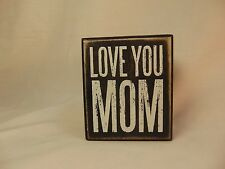 Wall Decor Box Sign Mother's Day Birthday Gift for Mom Mama Mommy  #777