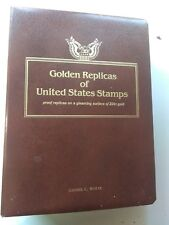 75 Golden Replicas of United States Stamps from 1992-1995