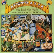 AUSTRALIA-OUR LAND,OUR MUSIC - AUSTRALIANA COLLECTION / VARIOUS ARTISTS - 2 CD S