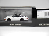 Porsche 911 (964) Targa 1991 in weiß white, Minichamps 430 061365 in 1:43 boxed!