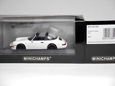 Porsche 911 (964) Targa 1991 in weiß white, Minichamps 430 061365 in 1:43 boxed!