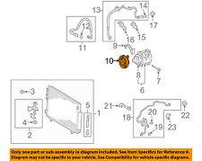 Scion TOYOTA OEM 05-08 tC A/C AC Compressor-Clutch Plate & Hub Assy 8841021030