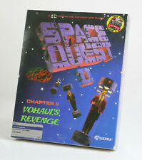 Sierra Space Quest 2 Vohaul's Revenge - Big Box PC SEALED - Atari ST CASE FRESH