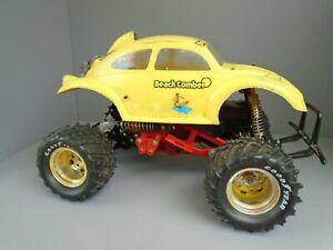 Vintage Tamiya RC Car Monster beetle w/ thorp diff & Axles truck blackfoot