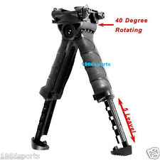 Hunting Swivel Bipod Foldable Foregrip 20mm Picatinny Rail For Rifle #y50