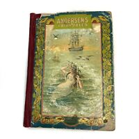 C.1900 Andersen's Fairy Tales Hurst & Company The Fireside Series Antique Book