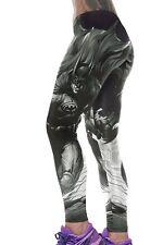 Jahnells Closet Batman Print High Stretch Yoga Pants