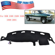 Dashboard Dash Mat Dashmat Sun Cover Pad For Dodge Ram 1500 2500 3500 1998-2001