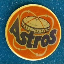 1990 Houston Astros Ace Novelty Co Lapel/Hat Pin 1-1/4 Inches Never Used