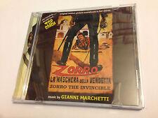 ZORRO LA MASCHERA DELLA VENDETTA (Marchetti) OOP Ltd Soundtrack Score OST CD NM