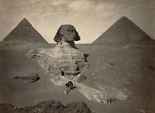 EGYPT ANCIENT  PYRAMID sphinx photo landscape A0 CANVAS PRINT  Egyptian old