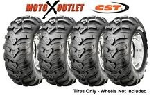 Honda Atv Rancher Tires 24X8-12 24x10-11 CST MAXXIS ANCLA Set of 4x4 350 400 420