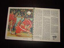 Soviet Russian USSR sport calendar book album Olympic champions photo hockey ice