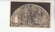 BF18578 dessus de porte polychrome du tombeau de  sculpture art front/back image