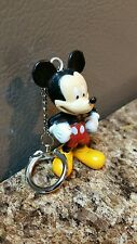 DISNEY CHARACTER MICKEY MOUSE CUSTOM KEYCHAIN / KEYRING PVC ONE OF A KIND NEW