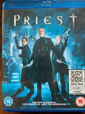Priest Blu-ray 2011 Horror Movie with Paul Bettany and Lily Collins