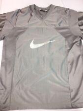 VTG 2000's Nike Stitched Hip Hop Rap Football Jersey Silver SZ L #30 Rare