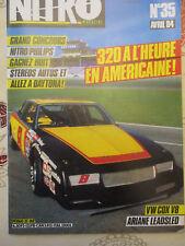 NITRO 35 AVRIL 1984: JOHNNY HALLYDAY BE GOOD - RICHARD PETTY - VW COCCINELLE -