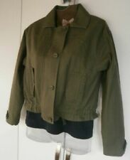 Marks and Spencer Cropped Cotton Outer Shell Coats, Jackets & Waistcoats for Women