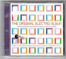 (GL933) The Original Electro Album, 18 tracks various artists - 2004 CD