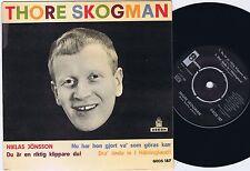 THORE SKOGMAN Niklas Jönsson Swedish EP 45PS 1962 EX(+)/EX+
