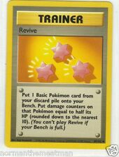 Base Set Pokemon Card -Trainer Revive - # 89/102 Mint - Never Played